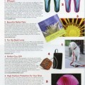 Featured in the Hot Gifts section of Family Beautiful Magazine, Michele Penn