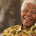 Nelson Mandela became the first black president of South Africa in 1994. A symbol of global peacemaking, he won the Nobel Peace Prize in 1993. Mandela died at his home in Johannesburg, South Africa, on December 5, 2013, at the age of 95.