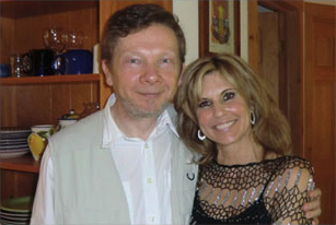 Michele Penn and Eckhart Tolle