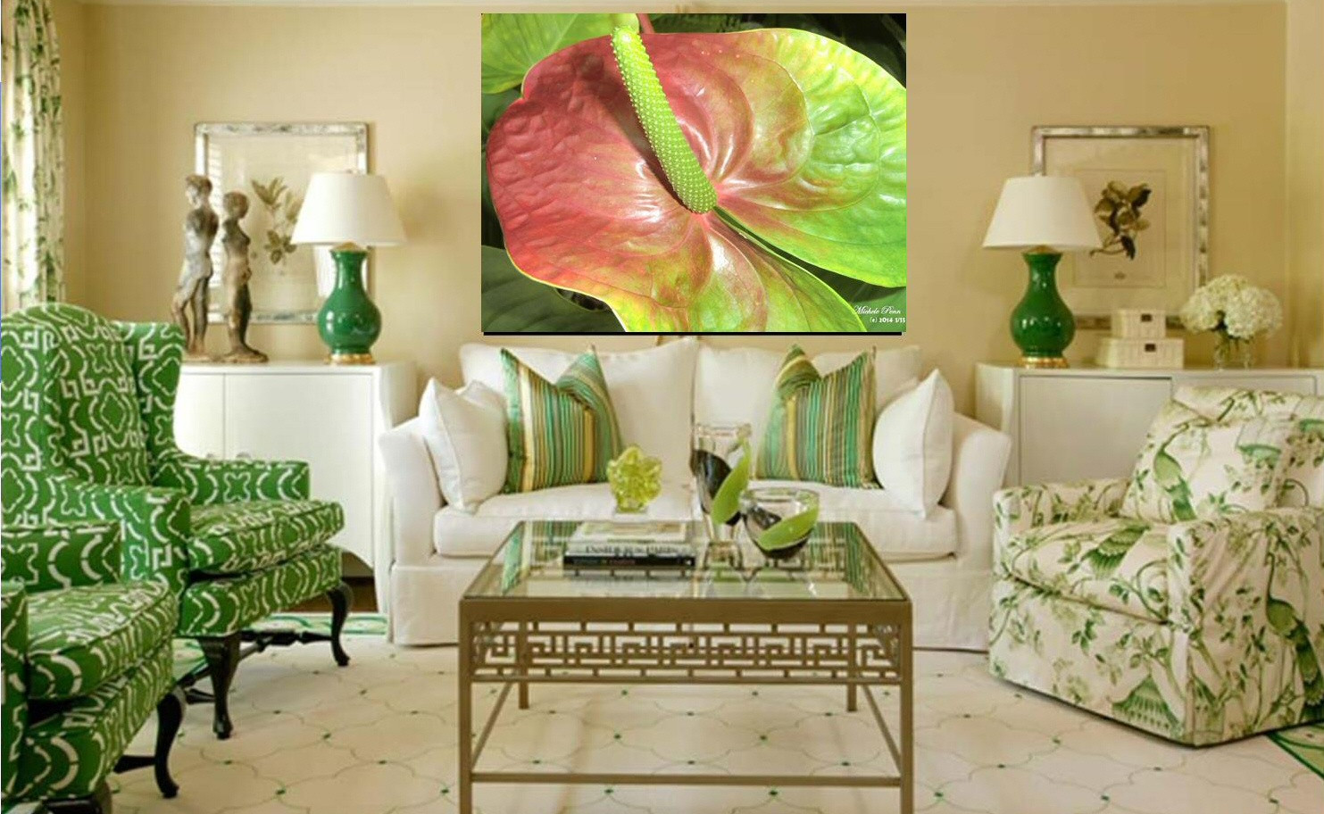Green Anthurium Glory Limited Edition of 33