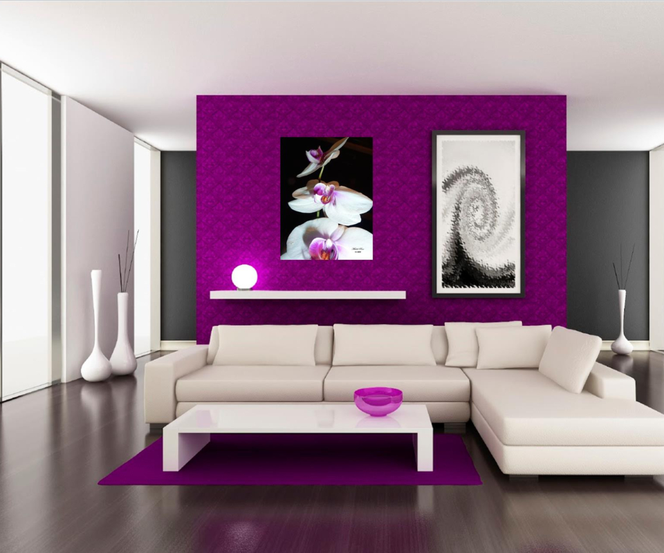gallery purple new