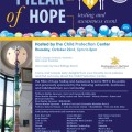 Come to the PILLAR OF HOPE Event at the Child Protection Center.  Michele Penn will be doing a BOOK-SIGNING!