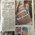 """She is Changing Lives"" – The Observer Newspaper Article"